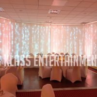 S Klass Entertainment Room Draping